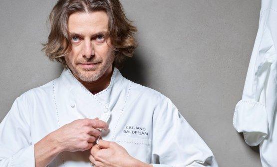 Giuliano Baldessari ci spiega cos'è la sua cucina che vuol colpire i sensi, attraverso la verità del prodotto