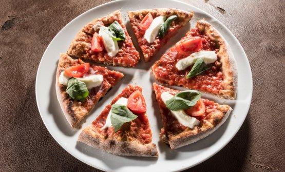 Naturalmente Margherita, una delle pizze di Polzella