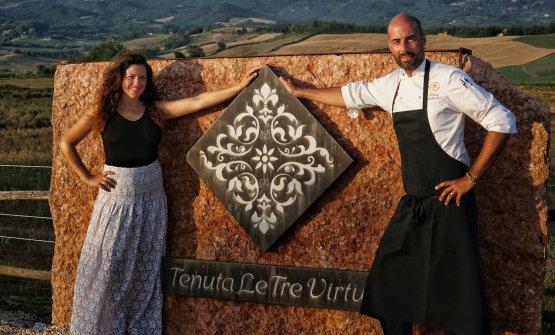 Valentina Sabatini e Antonello Sardi. La prima, co