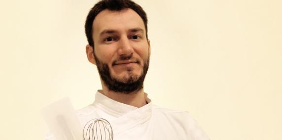 Luca De Santi, pasticciere del Ratanà di Milano