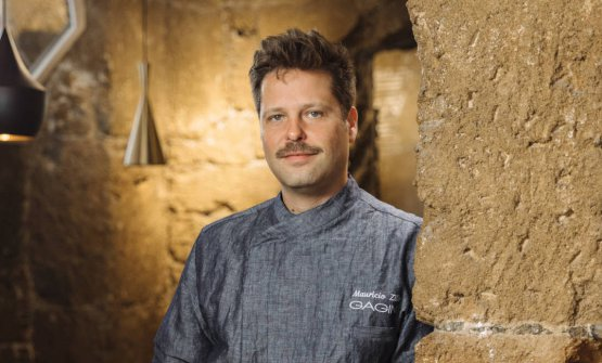 Mauricio Zillo, 40 anni, da pochi mesi chef di Gag
