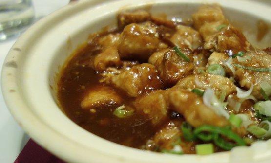Zuppa di baccalà e tofu