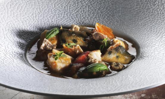 La Zuppa di pesce d'acqua dolce è la proposta 2017 di Cesare Battisti, chef del Ratanà di Milano
