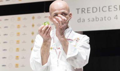 Che lezione Riccardo Camanini, cuoco dell'anno 2017