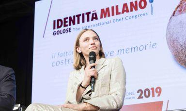 Isabella Potì, chef di Bros a Lecce, è stata ospite, durante il congresso di Identità Golose, della mattinata dedicata alla televisione e alla comunicazione della cucina