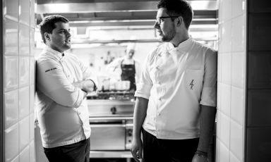 Andrea De Carli e Marco Cozza sono i giovani chef
