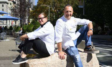 Missy Robbins e Fortunato Nicotra: l'Italia dentro