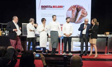 Paolo Marchi, Massimo Bottura, Davide Oldani, Andr