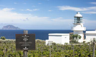 Il Capofaro a Salina, splendido resort della famiglia Tasca d'Almerita. Foto Matteo Carassale