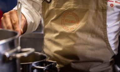 Il debutto di Stellato: alta cucina in versione delivery, garantiscono Stefano Ciotti e Simone Sabaini
