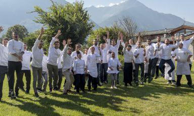 Foto celebrativa degli chef protagonisti della ker