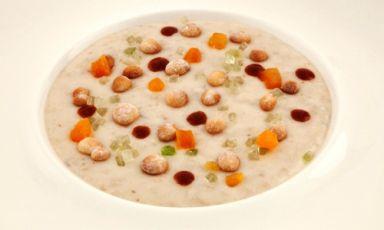 Pastiera napoletana soup