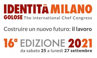 September will be the month of Identità Golose, from Saturday 25th to Monday 27th