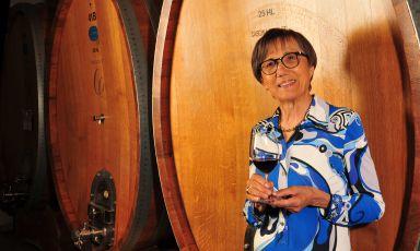 Mariuccia Borio, signora di ferro del vino