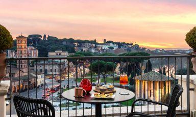 47 Circus Roof Garden, una terrazza di cose buone su Roma