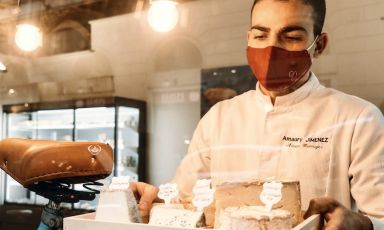 Vendere formaggio francese agli italiani: la sfida di Amaury Jimenez