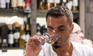 Alfredo Raucci, sommelier di Veritas a Napoli, una stella Michelin, 40 anni