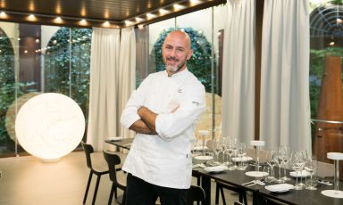 Daniele Usai, chef delTinoe del bistrotQuara