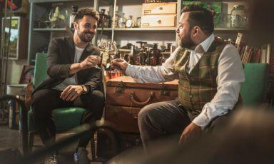 Marco Maltagliati e Federico Mazzieri, fondatori di Dreamhouse in via Pietro Colletta 17 aMilano (fotodreamwhisky.com)