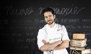 Jeremy Chan, chef di Ikoyia Londra,nel ritratto di Brambilla/Serrani