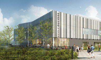 École Ducasse, vicino a Parigi c'è un avveniristico Campus da 5mila mq