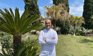 Tommaso Luongo, chef del ristoranteIl Corbezzolo del Botania Relais di Forio, Ischia (Napoli)