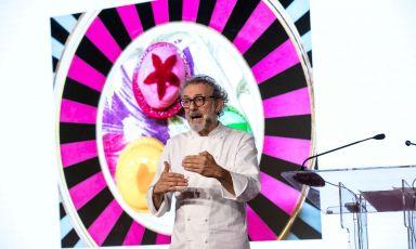 Massimo Bottura,Osteria Francescana(Modena, and much more) on Monday 27th September, Identità Milano. Photo Brambilla/Serrani