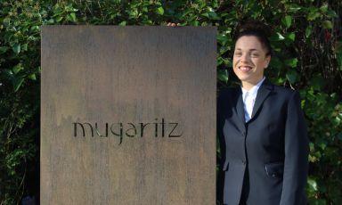 Francesca Cane, classe 1990 di Bra (Cuneo),maître del ristorante Mugaritz a Errenteria, Paesi Baschi