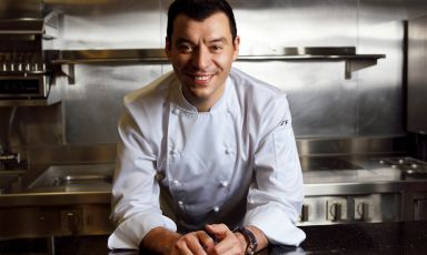 Luca Fantin has been the chef at Il Ristorante - Luca Fantin inside the Bulgari Ginza Tower in Tokyo for 10 years now