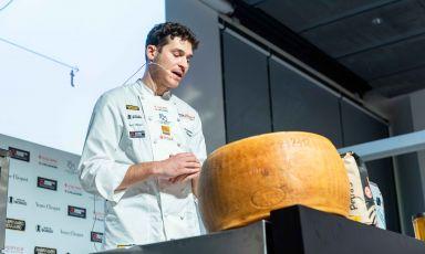 Francesco Vincenzi, emiliano, chef di Franceschetta58. Foto Brambilla/Serrani