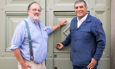 Paolo Marchi and Claudio Ceroni open the doors