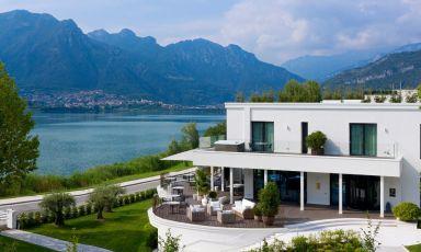 Il Bianca Relais, accoglienza di gran livello con vista sul lago di Annone e le montagne circostanti, siamo in provincia di Lecco, a Oggiono. La cucina è affidata allo chef Emanuele Petrosino