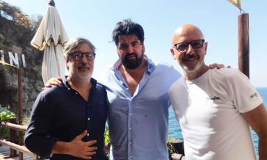 Quando un pranzo al Bikini diventa un incontro con tre grandi personaggi