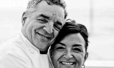 Mauro e Catia Uliassi, fratello e sorella, re e re