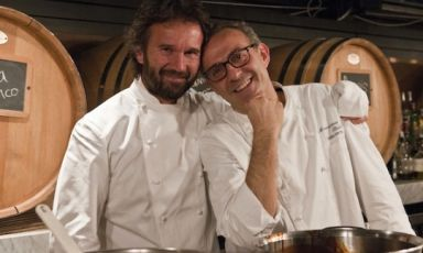Six magnificent Italian chefs in New York