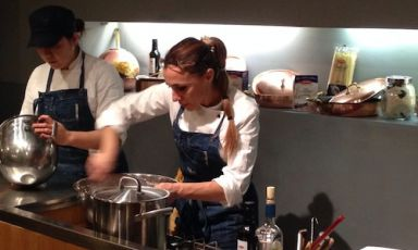 Antonella Ricci, chef at restaurant Al Fornello da