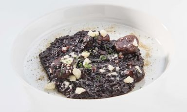 Black Japanese rice
