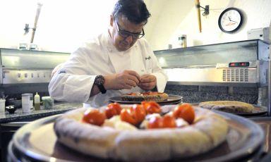 La pizza rustica-gourmet di Gilmozzi