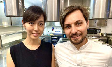 YukiMitsuishi e Giuseppe Molaro, moglie e marito, da novembre 2019 al timone diContaminazioni, Somma Vesuviana (Napoli)