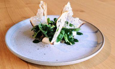 Chiocciole, cavolfiore e spinaci, il piatto dell&#