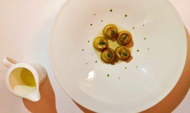 Uno dei piatti del menu di Sapio, a Catania