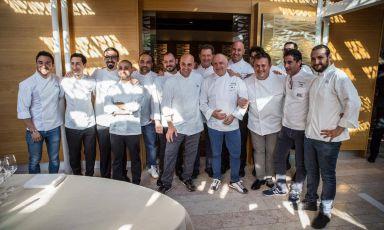 13 chef per i 130 anni del ristorante Agli Amici di Udine