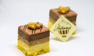 Le dolcezzein formato 4 x 4 della pasticceriaI