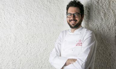 Fabrizio Ferrari, chef del ristorante di famiglia, il Porticciolo 84 di Lecco