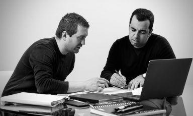 I due soci fondatori di Acqua,Davide Possoni e Andrea Marcella