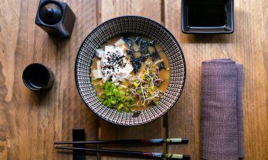 Uno dei piatti di Umami, trattoria giapponese con