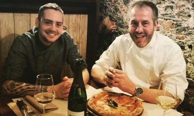 La nuova pizza del Pachino di Viareggio