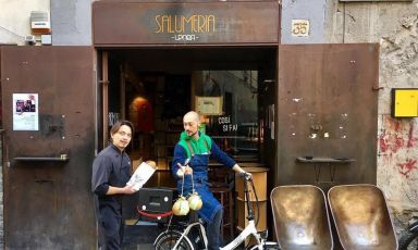 Salumeria UPnea, il bistrot che parla napoletano