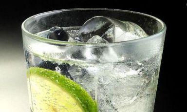 Il gin tonic di Javier de las Muelas, grande bartender del Dry Martini di Barcellona, +34.932175072 (foto, Jordi Poch/El Pais)
