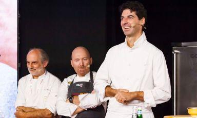 Tre chef, tre amici, tre piatti in ricordo di Andrea Paternoster